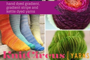 hand dyed gradient, gradient stripe and
